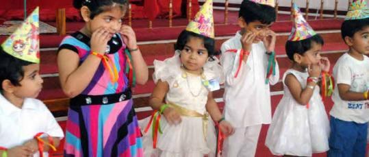 Young Children Celebration